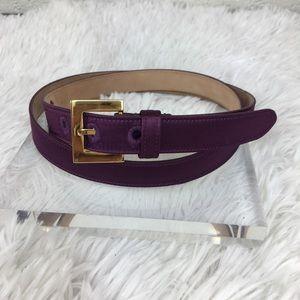 Dolce & Gabbana Purple Belt, BE0319, 90cm-36inc